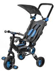 Трехколесный велосипед Galileo Strollcycle Black Синий (GB-1002-B) (9506000120935) от Rozetka