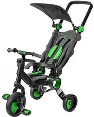 Трехколесный велосипед Galileo Strollcycle Black Зеленый (GB-1002-G) (9506000120959) от Rozetka