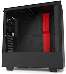 Корпус NZXT H510i Matte Black/Red (CA-H510i-BR) от Rozetka