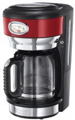 Акция на Капельная кофеварка RUSSELL HOBBS RETRO RIBBON RED (21700-56) от Rozetka