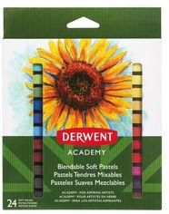 Набор сухой пастели Derwent Academy Soft Pastels 24 цвета (98216) от Rozetka