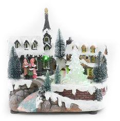 Светящаяся музыкальная фигурка Angel Gifts Домик 18.5 см (Я19853_AG44806_1) от Rozetka