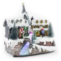 Светящаяся музыкальная фигурка Angel Gifts Домик 18.5 см (Я19853_AG44806_2) от Rozetka