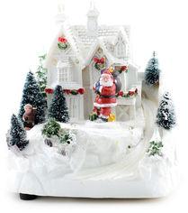 Светящаяся музыкальная фигурка Angel Gifts Домик 19 см (Я19850_AG44803_1) от Rozetka