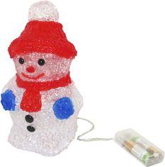 Светящаяся фигура Angel Gifts Снеговик 21 см (Я17485_AG91284) от Rozetka