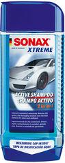 Акция на Автошампунь Sonax Xtreme Active Shampoo 2 in 1 500 мл (4064700214200) от Rozetka