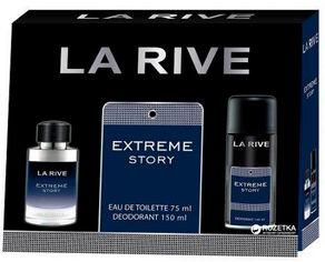 Акция на Набор для мужчин La Rive Extreme Story туалетная вода 75 мл + дезодорант 150 мл (5901832063773) от Rozetka