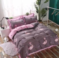 Акция на Комплект постельного белья MirSon Бязь Premium Milano №22INT 143х210 см (2200000997289) от Rozetka
