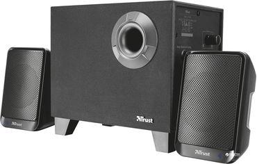 Акция на Акустическая система Trust Evon Wireless 2.1 Speaker Set Black (TR21184) от Rozetka