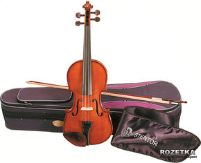 Скрипка Stentor 1400/J Student I Violin Outfit 1/32 от Rozetka