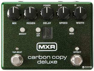 Педаль эффектов Dunlop M292 MXR Carbon Copy Deluxe Analog Delay от Rozetka