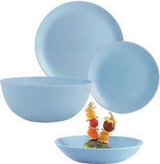 Акция на Сервиз столовый Luminarc Diwali 19 предметов Light Blue (P2961) от Rozetka