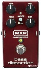 Педаль эффектов Dunlop M85 MXR Bass Distortion от Rozetka