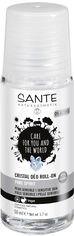 Роликовый БИО-дезодорант для сверхчувствительной кожи Sante Crystal не ароматизированный 50 мл (4025089075714) от Rozetka