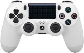 Акция на Беспроводной геймпад PlayStation Dualshock 4 v2 Glacier White от Rozetka