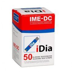 Акция на Диагностические тест-полоски IME-DC IDIA, 50 шт. от Medmagazin