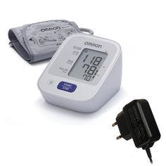Автоматический тонометр Omron M2 BASIC с адаптером и манжетой 22-32 см от Medmagazin