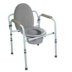 Акция на Стул туалетный со спинкой Dr.Life 10595 от Medmagazin