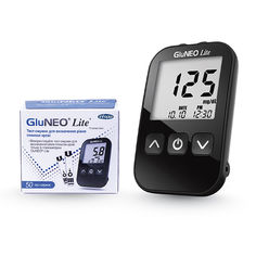Акция на Акционный набор Глюкометр GluNeo Lite (ГлюНео Лайт) с 60 тест-полосками от Medmagazin