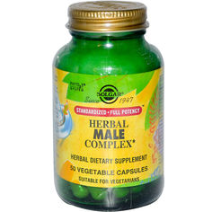 Травяной комплекс для мужчин (Herbal Male Complex) Солгар №50 от Medmagazin