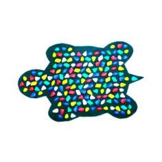 Коврик массажный Черепаха 80х45 см зеленый OnhillSport от Medmagazin