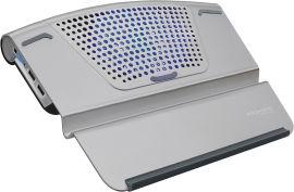 Охлаждающая подставка для ноутбука Promate AirBase-6 Grey от Rozetka