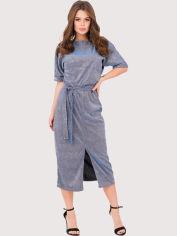 Платье ISSA PLUS 11234 L Синее (issa2000196012823) от Rozetka