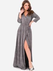 Платье ISSA PLUS 11233 S Серое (issa2000196013059) от Rozetka