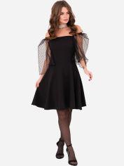 Платье ISSA PLUS 11224 L Черное (issa2000196012410) от Rozetka