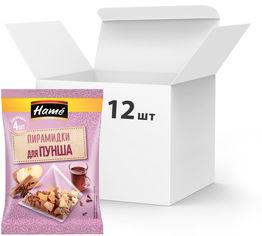 Упаковка смеси пряностей Hame для пунша в пакетиках-пирамидках 20 г х 12 шт (18595139795365) от Rozetka