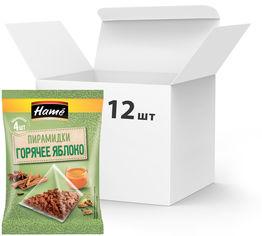 Упаковка смеси пряностей Hame для напитка Горячее яблоко в пакетиках-пирамидках 20 г х 12 шт (18595139795358) от Rozetka