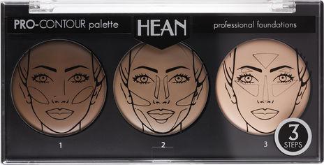 Палитра для контуринга лица Hean Pro-contour palette 15 г (5907474427584) от Rozetka