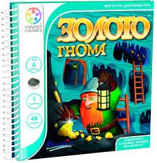 Акция на Настольная игра Smart Games Золото гнома Дорожная (SGT 280 UKR) (5414301521860) от Rozetka