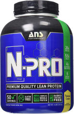 Протеин ANS Performance N-PRO Premium Protein Банановый крем 1.8 кг (483270) от Rozetka