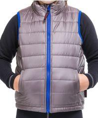 Акция на Жилет Fahrenheit Kids Vest FAGLPL16102 98-104 см Серый/Синий (91216028) от Rozetka