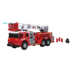 Акция на Функциональное авто Пожарная бригада со звуком и светом Dickie Toys 62 см (3719003) от Будинок іграшок