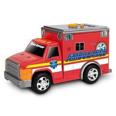 Акция на Спасательная техника Скорая помощь со светом и звуком Toy State (34515) от Будинок іграшок