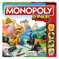 Акция на Настольная игра Hasbro Games Моя первая Монополия (A6984) от Будинок іграшок