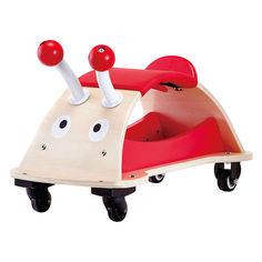 Акция на Детская каталка HAPE Bug (E0378) от Будинок іграшок