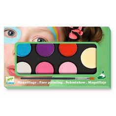 Акция на Грим для лица DJECO Нежность 6 цветов (DJ09231) от Будинок іграшок