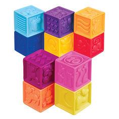 Акция на Развивающие силиконовые кубики Battat Посчитай-ка! (BX1002Z) от Будинок іграшок