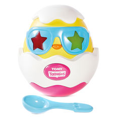 Акция на Музыкальная игрушка Tomy Разбей яйцо со световым эффектом (T72816C) от Будинок іграшок
