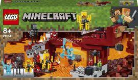 Акция на Конструктор LEGO Minecraft Мост ифритa (21154) от Будинок іграшок