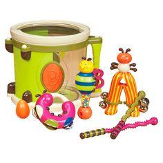 Музыкальный инструмент Барабан Парам-Пам-Пам Battat (BX1007Z) от Будинок іграшок