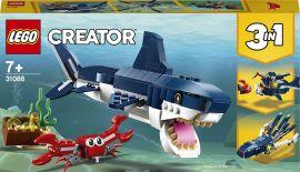 Акция на Конструктор LEGO Creator Обитатели морских глубин (31088) от Будинок іграшок