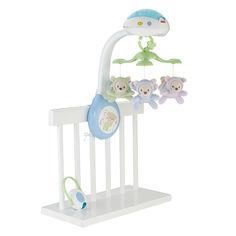 Акция на Мобиль Fisher-Price Сон бабочки с эффектами с пультом управления (CDN41) от Будинок іграшок