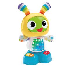 Акция на Интерактивная игрушка Fisher-Price Робот Бибо на русском (DJX26) от Будинок іграшок