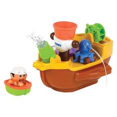 Акция на Игрушка для ванной Пиратский корабль TOMY (Т71602) от Будинок іграшок