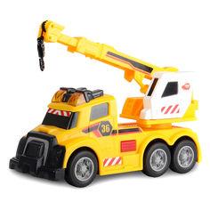 Акция на Авто с раскладным краном и звуковыми световыми эффекты (3302006) от Будинок іграшок