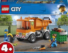 Акция на Конструктор LEGO City Мусоровоз (60220) от Будинок іграшок